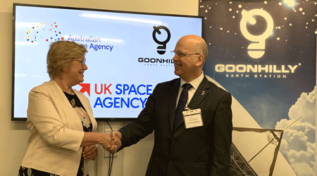Goonhilly partners with the Australian Space Agency to drive new opportunities worldwide
