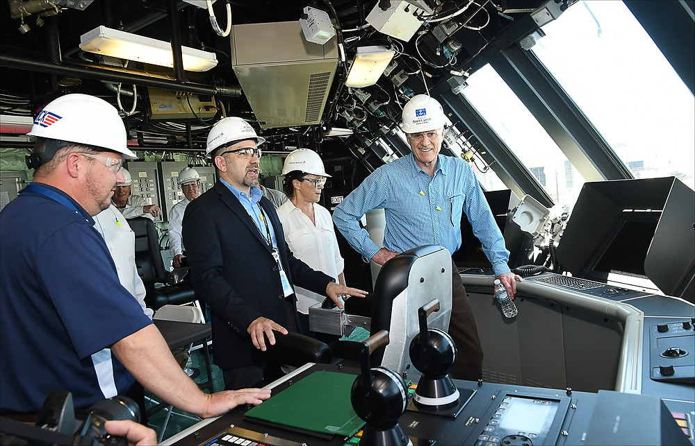 Secretary Spencer visits Marinette Shipyard, home to Freedom-Variant Littoral Combat Ship