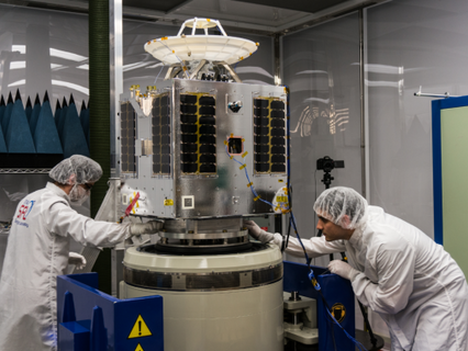 SSL small satellite for Telesat delivered to launch base in Eastern Russia