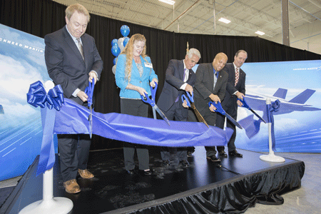 Lockheed Martin opens new facility to support F-35 production growth
