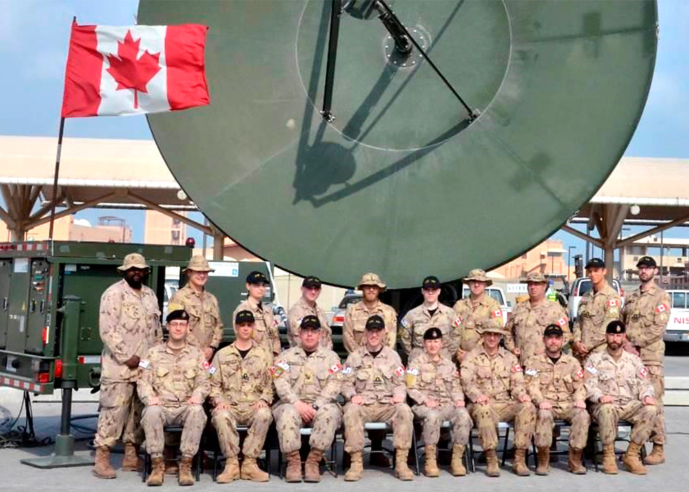 MDA congratulates the Canadian Armed Forces for receiving USGIF Military Achievement Award