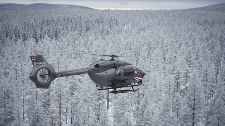 It's a win for Thales rocket systems at H145M firing campaigns in Hungary and Sweden