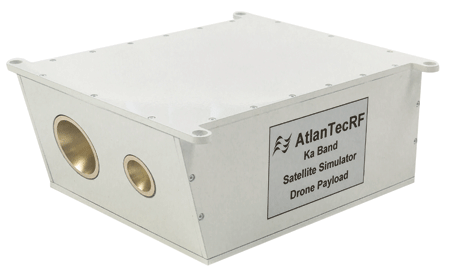 AtlanTecRF launches the world's first Drone Payload for RF testing of satellite communications