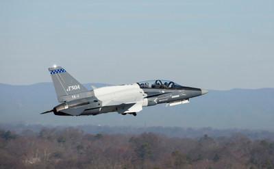 Second Lockheed Martin T-50A takes flight in Greenville, South Carolina