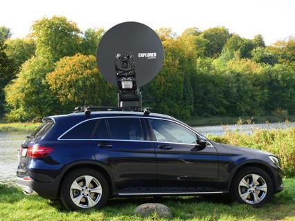 Cobham showcases new 1.2m stabilised VSAT at Satellite 2017