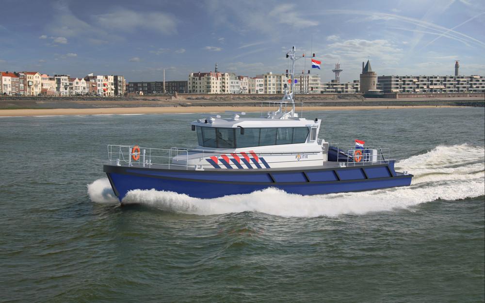 Dutch Police order six patrol vessels from Damen