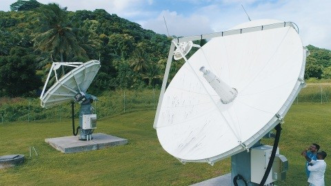 Bluesky Cook Islands increase the amount of satellite capacity it is using from SES Networks to roll out 4G/ 4G+ services (Photo: Business Wire)