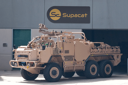Supacat wins Queen's Award for International Trade  for Outstanding Short Term Growth