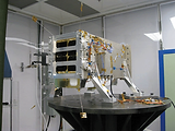 Claire microsatellite delivers greenhouse gas emissions monitoring data. Photo courtesy of GHGSAT