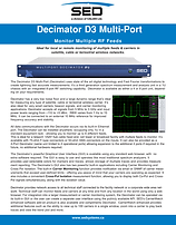 Multiport Decimator D4 - Advanced Spectrum Monitoring & Signal Analysis