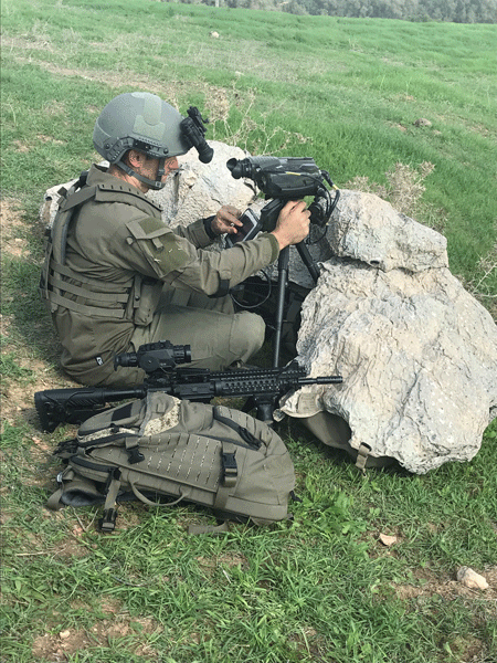 Elbit Systems launches HattoriX, a man-packed fire support system for passive, precise and rapid target acquisition
