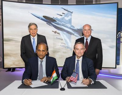 Tata announce F-16 India partnership