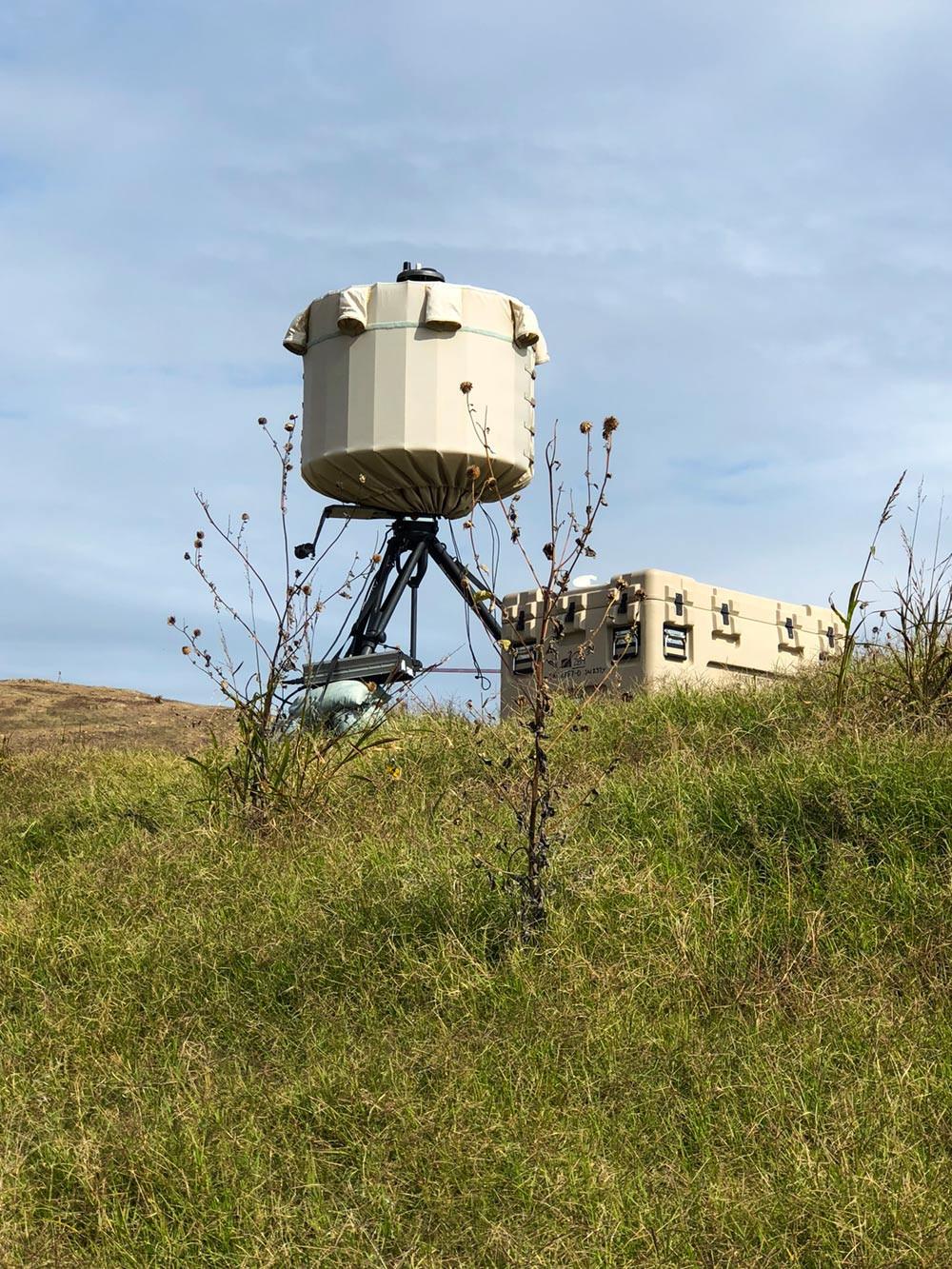 SRC's AN/TPQ-49 radar provides air surveillance for G7 Summit in Charlevoix, Quebec