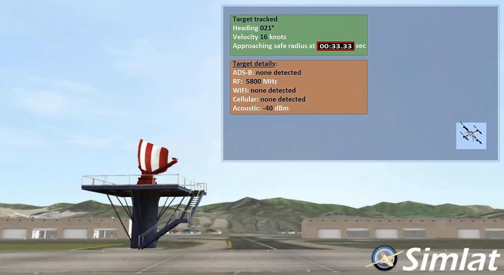 Simlat introduces a counter-UAS simulation application