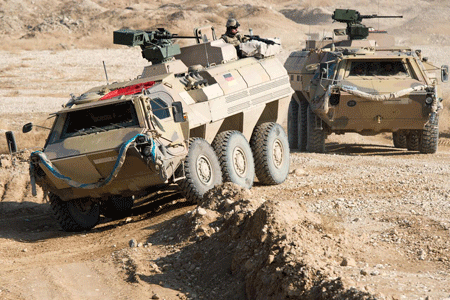 Survivability upgrades of Fuchs/Fox armoured transport vehicle