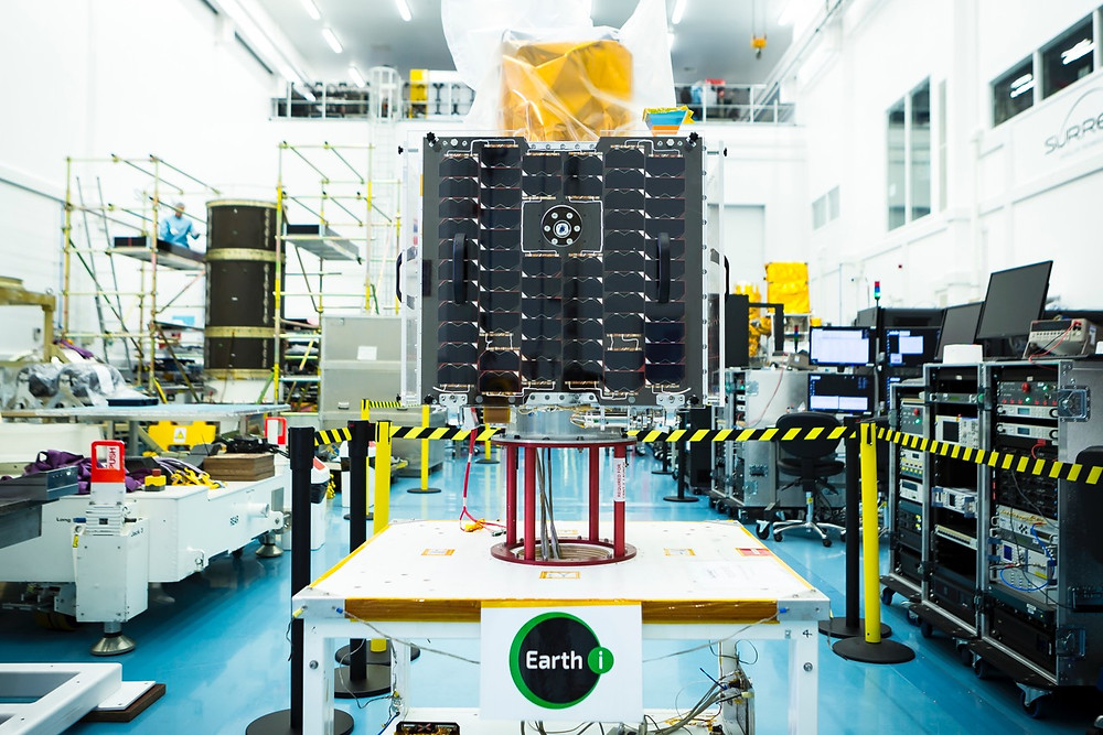 Earth-i chooses Spacemetric to process still images and video from its prototype satellite