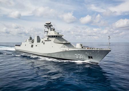 Damen Schelde Naval Shipbuilding delivers first SIGMA 10514 PKR frigate to Indonesian Ministry of Defence