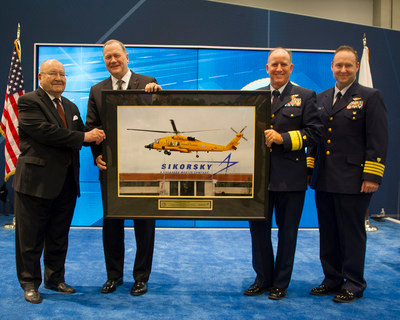 Sikorsky recognizes Coast Guard's extraordinary legacy of helicopter rescues