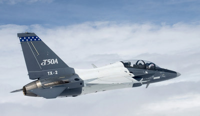 Lockheed Martin T-50A reaches 100 flights in Greenville, South Carolina