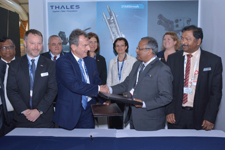 Thales and Bharat Dynamics Limited sign MoU to explore transfer of technology opportunity for STARStreak missile to India