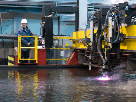 Work starts on the first multipurpose offshore patrol ship