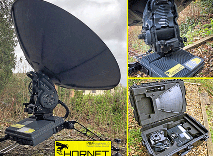 PARADIGM'S HORNET100GX satellite terminal available for Inmarsat Global Xpress