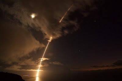 Latest Aegis Combat System is successful against medium range ballistic missiles