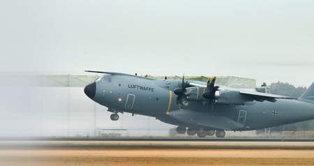 Germany receives first tactical standard Airbus A400M airlifter