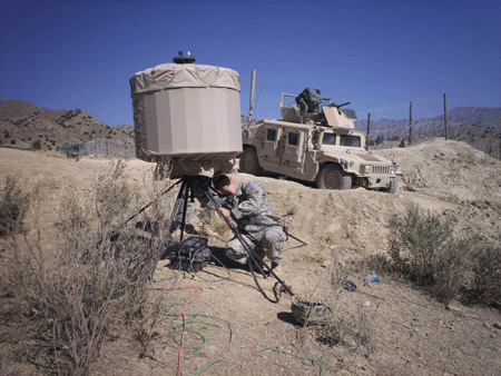SRC's LCMR counterfire radar is ideal for expeditionary operations.
