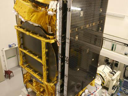 First European-built all-electric satellite EUTELSAT 172B getting ready to fly