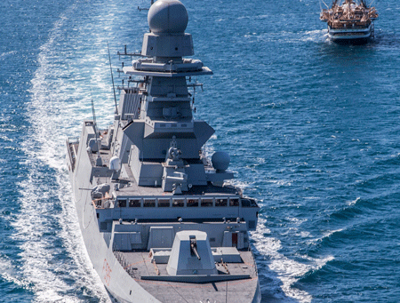 """Frigate """"Rizzo"""" delivered to the Italian Navy"""