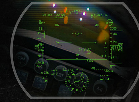Digital Light Engine technology to illuminate F-22 Head-Up Display