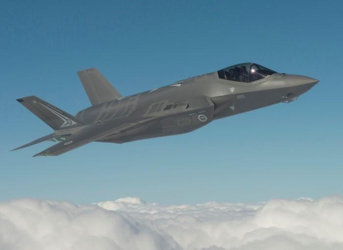 Australia's first F-35s arrive home to RAAF Williamtown heralding new era for the Australian Defence Force