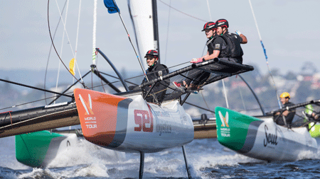 TV coverage of Australian sailing races made possible with ViaLite fiber links