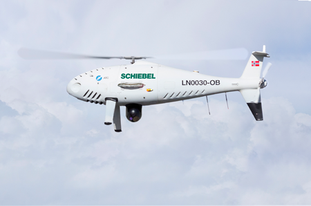 Schiebel CAMCOPTER® S-100 completes successful flight trials in Norway