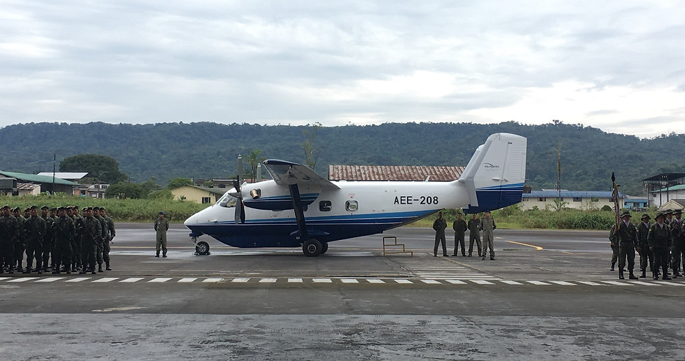 Sikorsky / PZL Mielec delivers M28 aircraft to the Ecuadorian Army