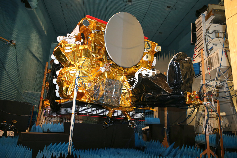 SES-14 arrives at Kourou for January launch