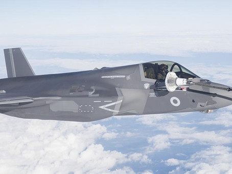 First transformational 5th generation aircraft arrive for UK's Lightning Squadron