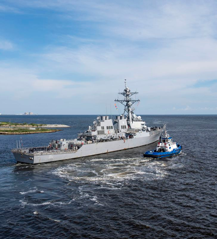 Huntington Ingalls Industries completes overhaul and modernization of USS Ramage (DDG 61)