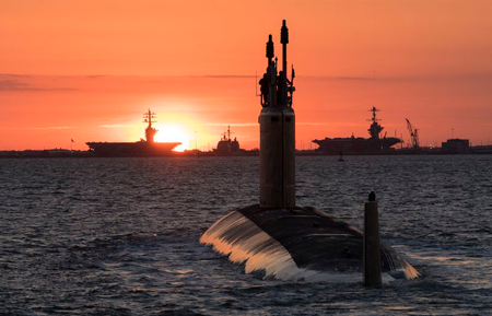 Huntington Ingalls Industries delivers Virginia-Class Submarine Washington to Navy