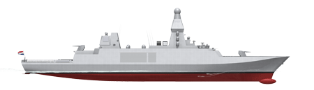 Preparing the new frigates of the Royal Netherlands Navy for the future with Thales