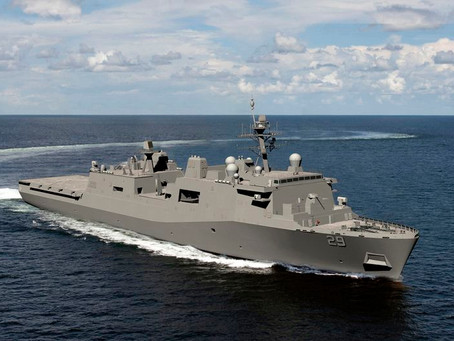 Huntington Ingalls Industries awarded $218 million advance procurement contract for LPD 29