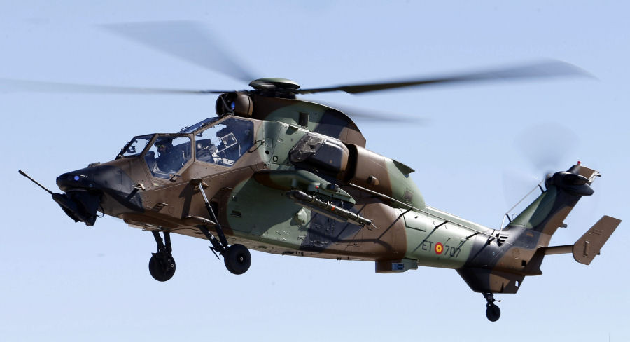 Spanish and German armed forces choose Thales' rockets to equip their Tiger helicopter fleets