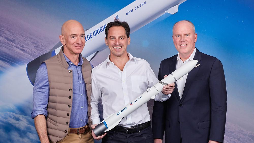 Blue Origin's powerful New Glenn Rocket to launch Telesat's advanced global LEO satellite constellation