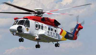 Sikorsky delivers second S-92 helicopter to South Korea Coast Guard