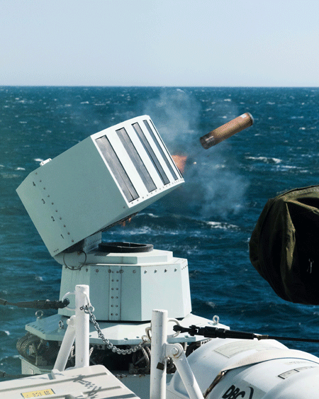 Multimillion-euro order for MASS naval countermeasures system
