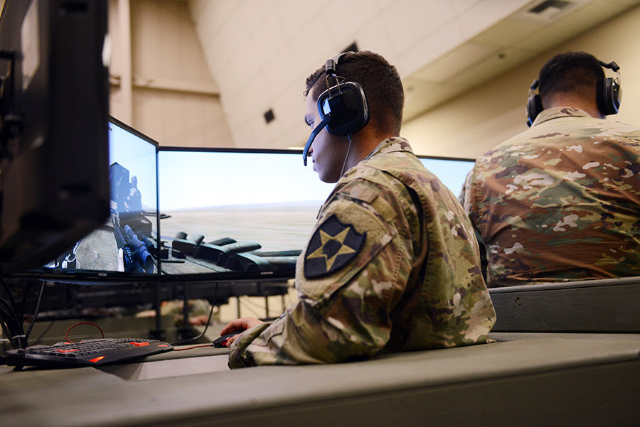 ASTi delivers communication systems to the Army's Stryker Trainer Program