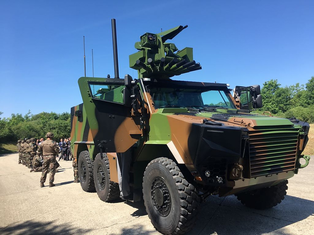 First parade on the Champs-Elysées for the Army's future connected armored vehicle