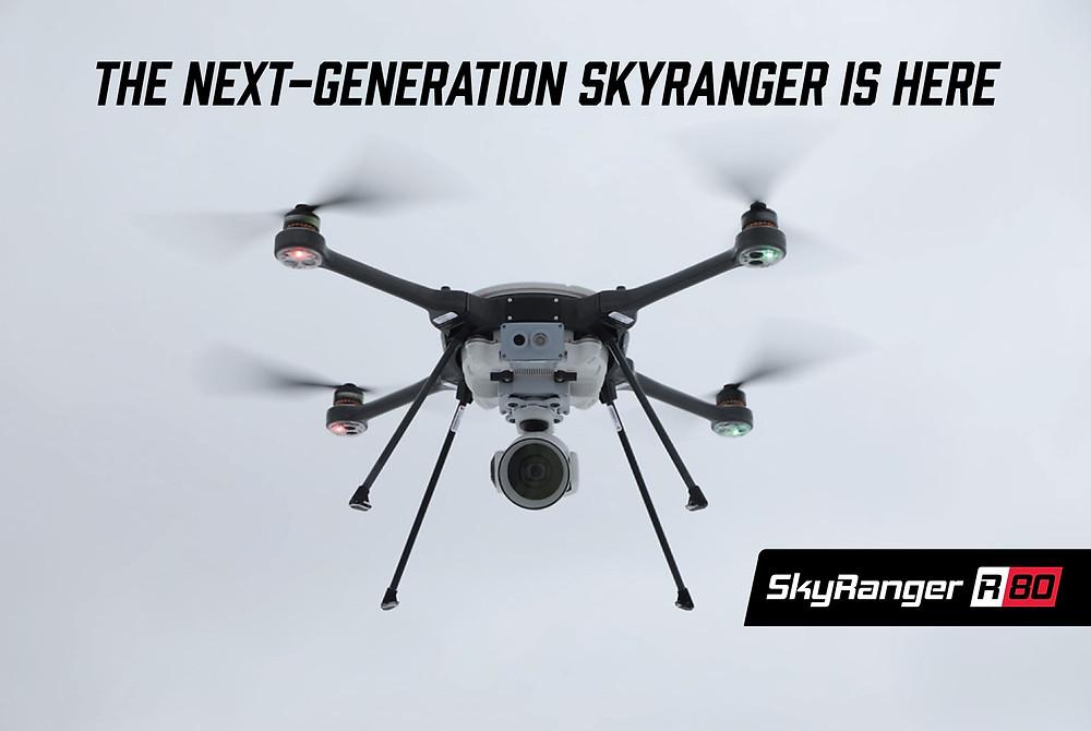 Aeryon announces the next generation SkyRanger R80 drone