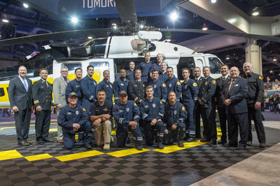 Sikorsky salutes Los Angeles County Fire Department Air Services for superior maintenance and search and rescue